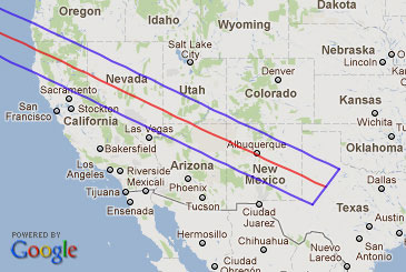 May 20 2012 Annular Solar Eclipse In Arizona Frank Zullo